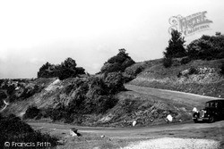 Nailsworth, The 'w' Hairpin Bend c.1955