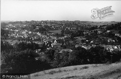 Nailsworth, View From West c.1955