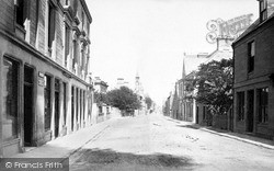 Nairn, High Street Looking East c.1880