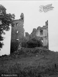 Nairn, Inshoch Tower 1952