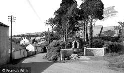 Nanstallon, The Church And Village 1956