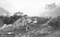 Nant Ffrancon, And The Glydess c.1880