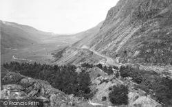 Nant Ffrancon, Pass 1935