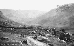 Nant Ffrancon, The Valley 1890