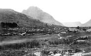 Nant Ffrancon, Trifaen Mountain c1876