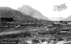 Nant Ffrancon, Trifaen Mountain c.1876