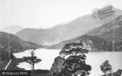 Lake Gwynant c.1880, Nant Gwynant