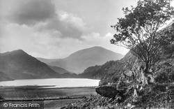 Llyn Dinas And Moel Hebog c.1935, Nant Gwynant