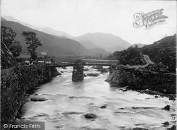 Old Bridge c.1880, Nant Gwynant