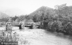 Old Footbridge 1892, Nant Gwynant