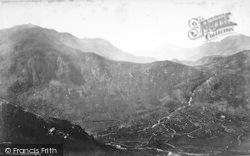 Snowdon c.1870, Nant Gwynant