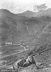 Snowdon From The Valley 1931, Nant Gwynant