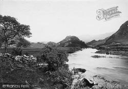 View In The Gwynant Valley 1892, Nant Gwynant