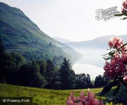 View Towards Bwlch Y Gwyddel Over Llyn From Pant Lleni c.1975, Nant Gwynant