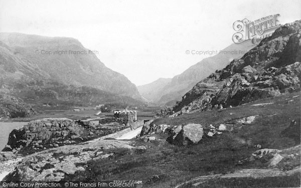 Photo of Nant Peris, Pass 1896