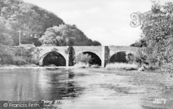 Towy Bridge c.1955, Nantgaredig