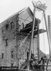 Dorothea Quarry, Beam Engine House c.1910, Nantlle