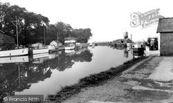 Nantwich, Basin End, Shropshire Union Canal c.1965