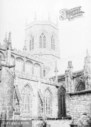 Nantwich, Church c.1955