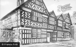 Nantwich, Churche's Mansions c.1955