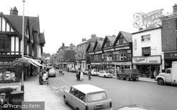 Nantwich, High Street c.1965