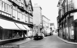 Nantwich, Hospital Street c.1965
