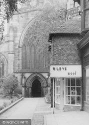 Nantwich, Rileys Wool Shop c.1965