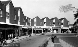 Nantwich, Shopping Centre c.1965