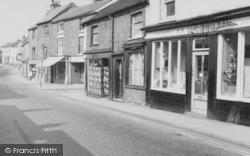 Nantwich, Shops On Welsh Row c.1965