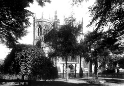 Nantwich, St Mary's Church 1898