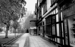Nantwich, St Mary's Church c.1965
