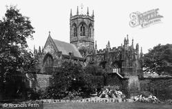Nantwich, St Mary's Church From The South East 1898