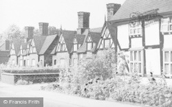 Nantwich, The Almshouses, Welsh Row c.1955