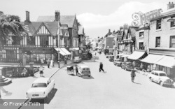 Nantwich, The Square c.1960
