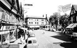Nantwich, The Square c.1960