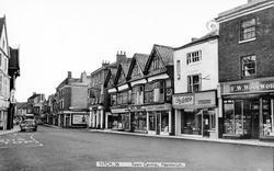 Nantwich, Town Centre c.1965