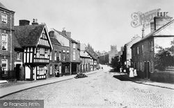 Nantwich, Welsh Row 1898