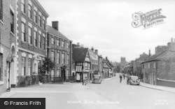Nantwich, Welsh Row c.1955