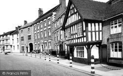 Nantwich, Welsh Row c.1960