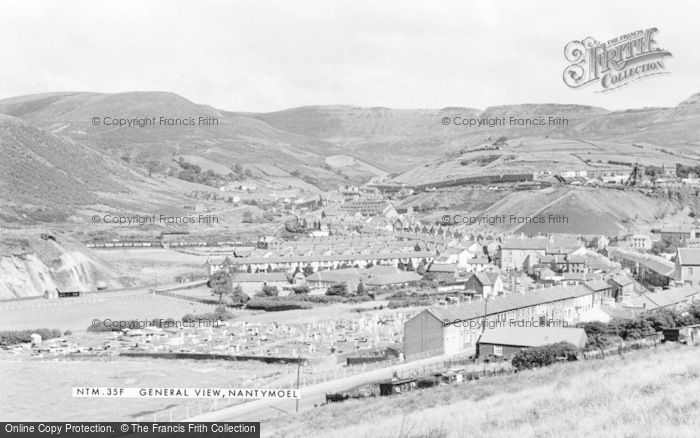 Photo of Nantymoel, c.1955
