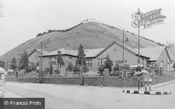 Nantymoel, The Memorial Hall c.1955