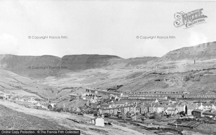 Photo of Nantymoel, View Towards The Bwlch c.1955