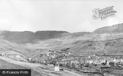 Nantymoel, View Towards The Bwlch c.1955