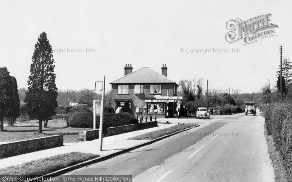 Naphill, the Cross Roads c1965