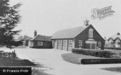 Naphill, The Village Hall c.1965