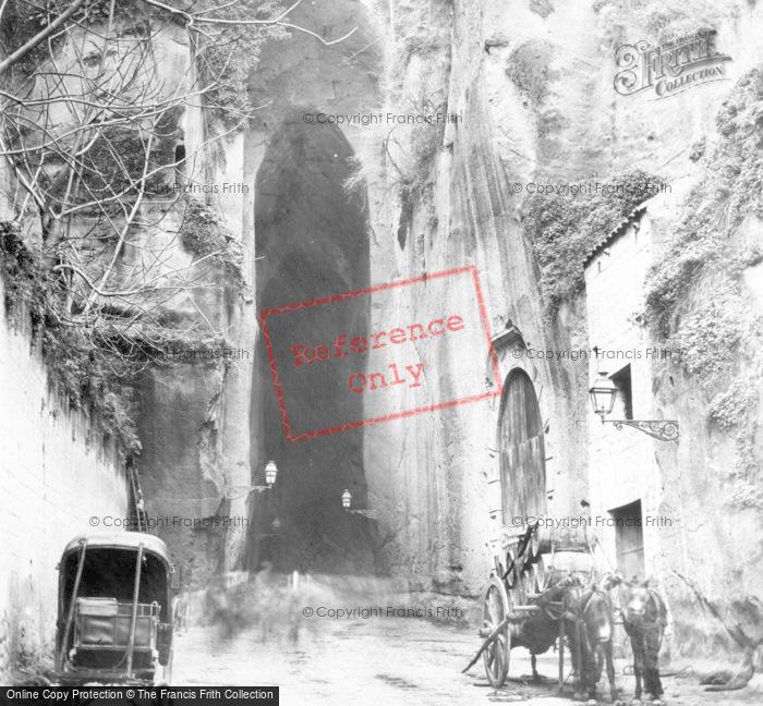 Photo of Naples, Grotto Of Pazzuoli c.1865