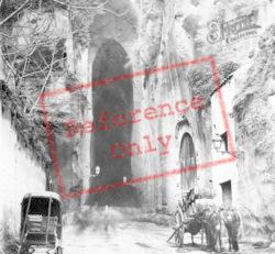 Grotto Of Pazzuoli c.1865, Naples