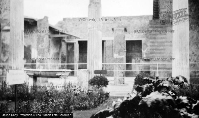 Photo of Naples, Herculaneum c.1920