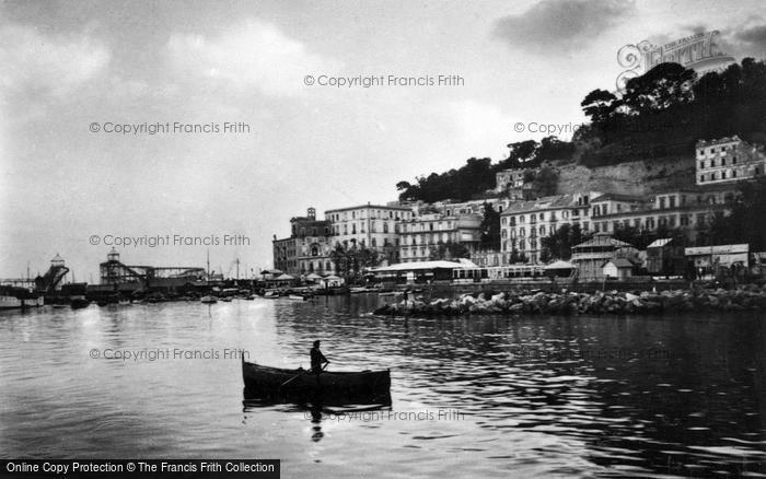 Photo of Naples, Mergellina c.1920