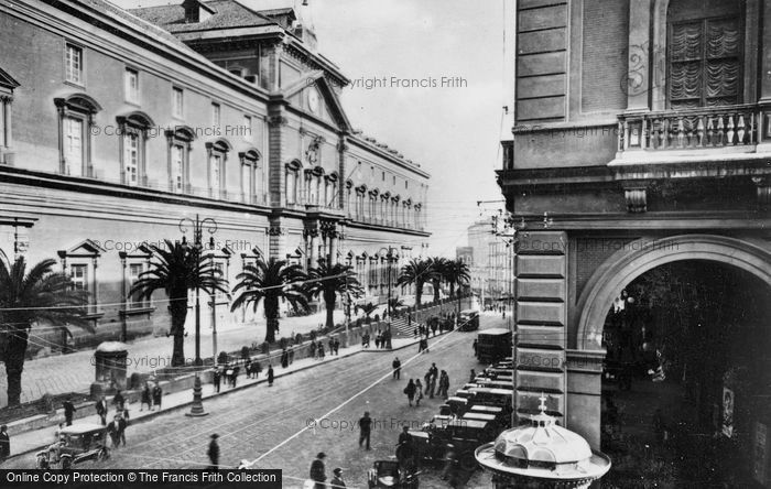 Photo of Naples, National Archaeological Museum c.1920